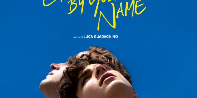 Call Me By Your Name affiche film