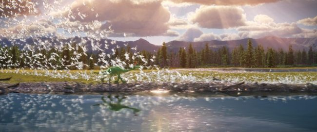 THE GOOD DINOSAUR - Pictured (L-R): Arlo, Spot. ?2015 Disney?Pixar. All Rights Reserved.