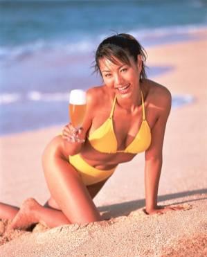 beer girl 21