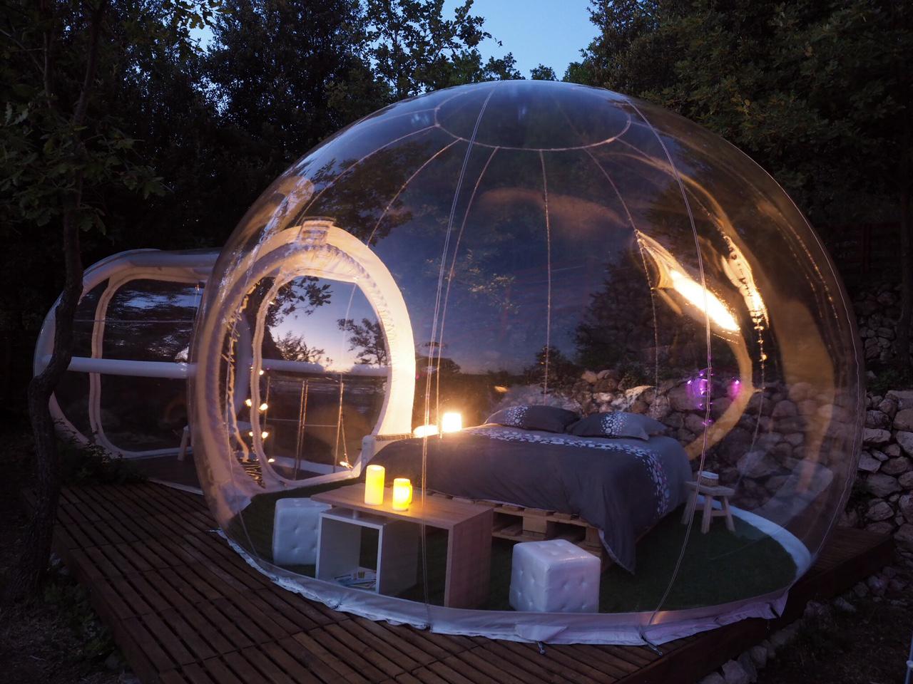 chambre dhtes bulle insolite Gilette Estron