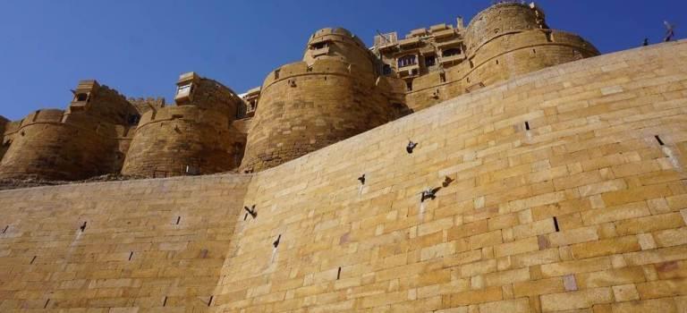 Désert et découverte de Jaisalmer «la ville d'or»