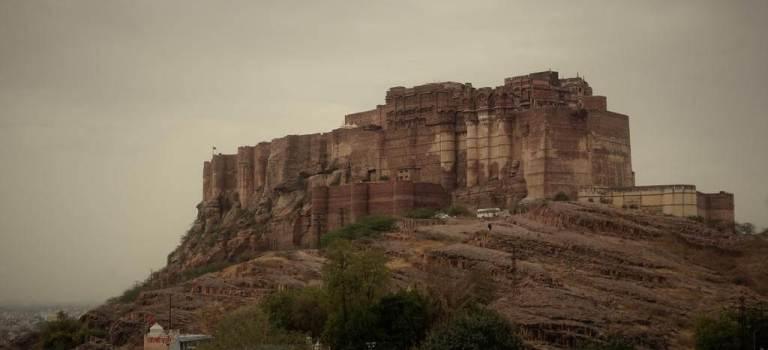De Jodhpur «la ville bleue», à Ranakpur puis Kumbhalgarh