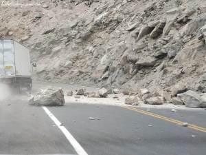 effondrement route pérou