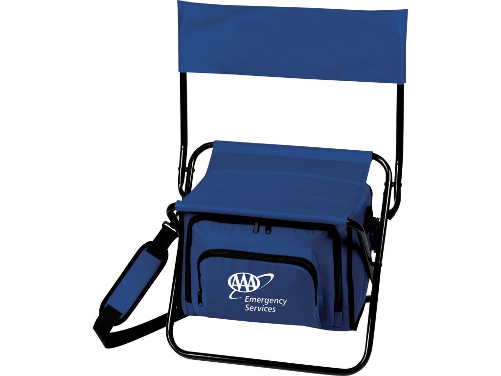 Chair Cooler Bullet Promotional Products Sm 7544 Folding Insulated 12