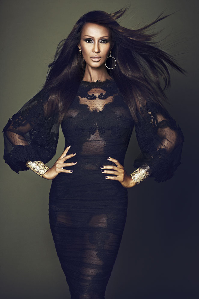 Iman Bowie Get The Supermodel Look With Bullet Blues