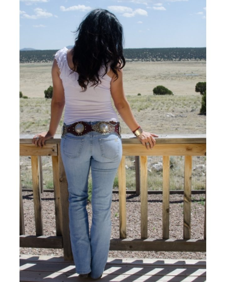 Bullet Blues Western Look With American Made Bombshell