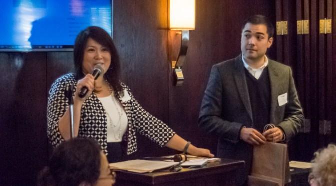 Julie Pabarja and Todd Ito