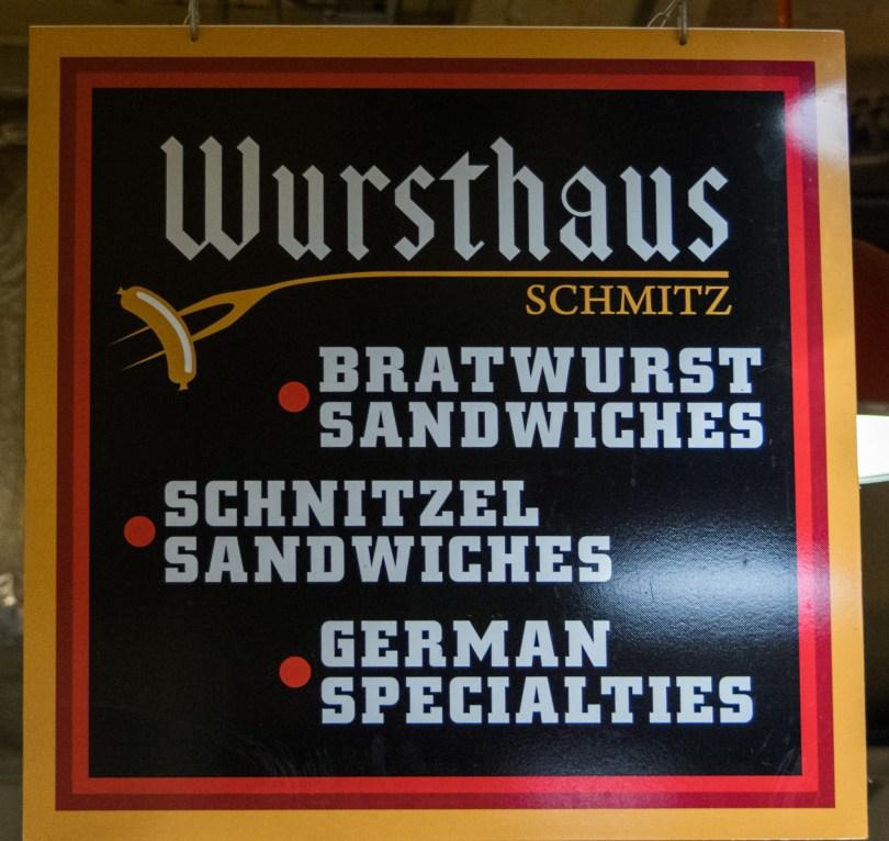 wursthaus sign