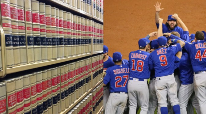 HOLY COW! A Parallel History of Law Librarians and the Chicago Cubs