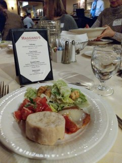 Maggiano's Menu at February 2019 CALL Business Meeting