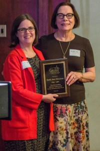 Keith Ann Stiverson with 2019 CALL Lifetime Achievement Award