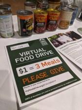Virtual Food Drive Fall 2019