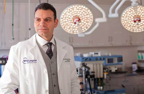 Face forward Transplant surgeon overcomes challenges with
