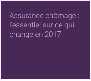 Fiche de paie : Assurance chômage – nouveaux changements  au 01/10/ 2017