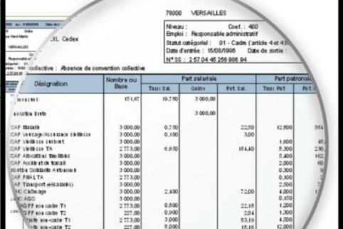fiche de paie excel 2020 avec formules
