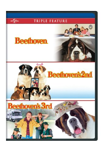 Beethoven / Beethoven's 2nd / Beethoven's 3rd Triple Feature [DVD]