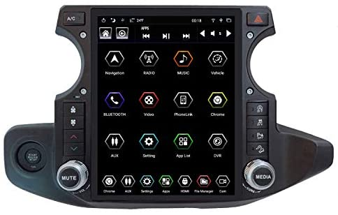 LinksWell Gen IV 12.1 Inch Touch Screen Car Stereo for Jeep Wrangler Gladiator Radio 2018 to 2021 Unit Multimedia Player Radio Screen Replacement GPS Navigation Android Tablet Auto TS-JPJL12-1RR-4A
