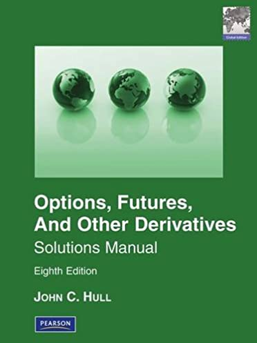 Solutions Manual for Options, Futures & Other Derivatives Global Edition