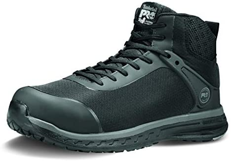 Timberland PRO Men's Drivetrain Mid Composite Safety Toe Electrical Hazard Athletic Work Boot