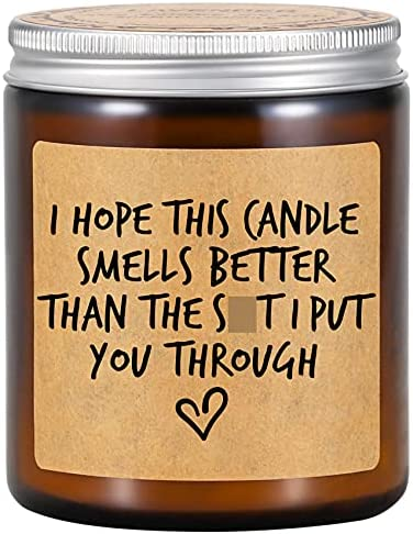 Fairy's Gift Scented Candles – I'm Sorry Gifts for Her, Him – Funny Apology Gifts, Friendship, Christmas, Birthday Gifts for Women, Men, Mom, Dad, Wife, Husband, Girlfriend, Boyfriend, Best Friend
