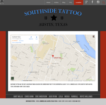 Southside Tattoo - Location