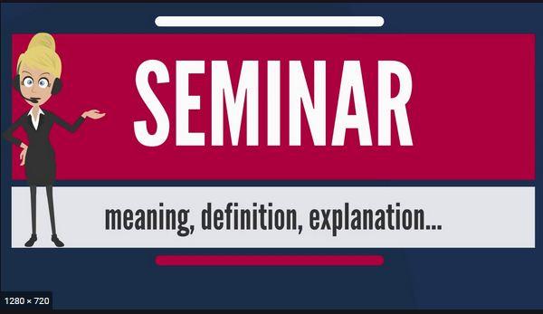 Seminar: Computer Seminar Topics