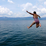 jump in the lake photo