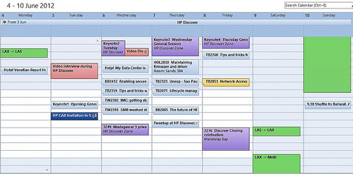 schedule photo
