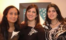 The Artists: Saba Syed, Unaiza Karim and Huma Durrani