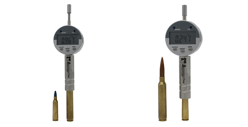 Accuracy One Seating Depth Comparator with Cartridge