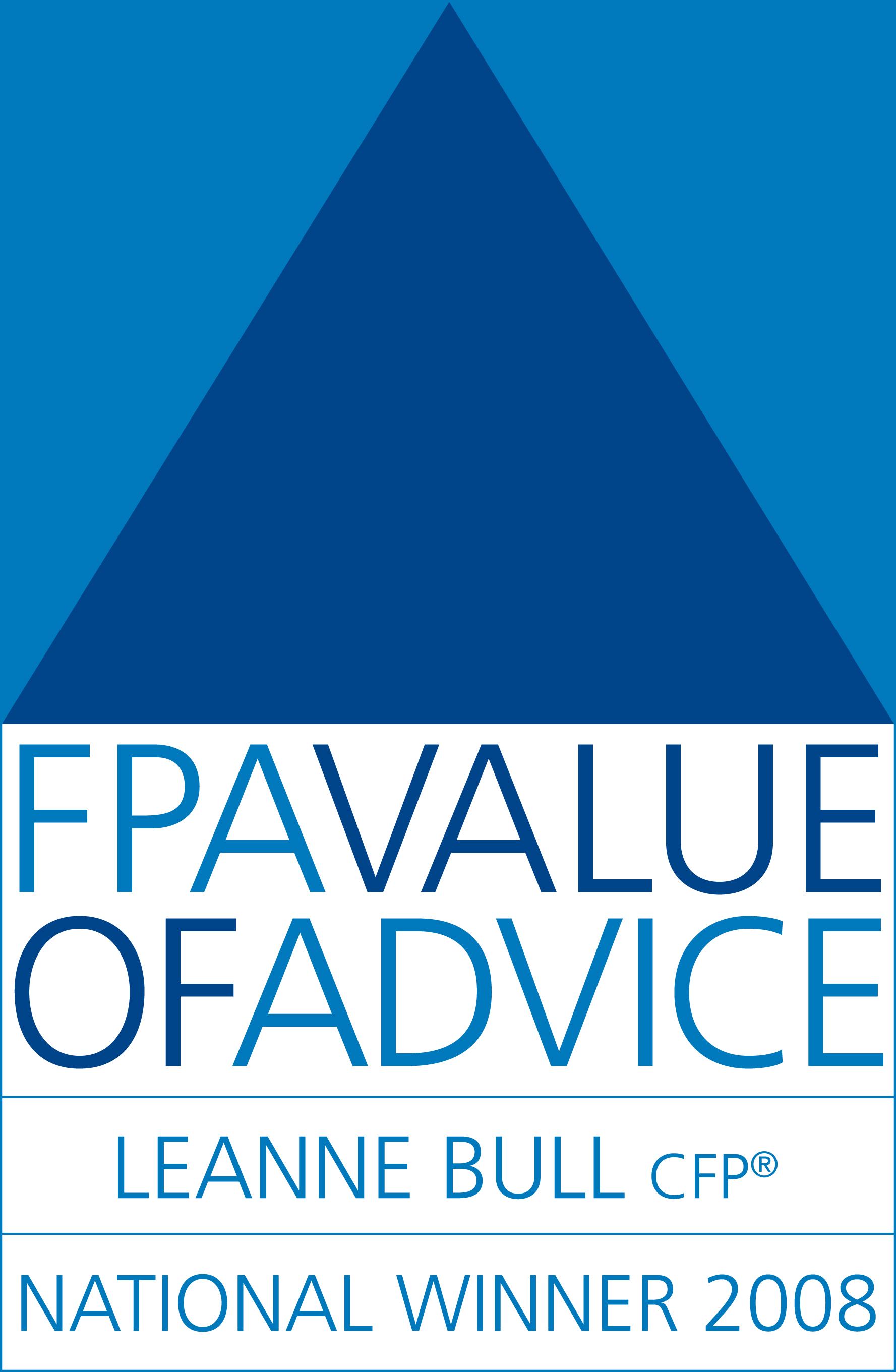 FPA VOA WINNER 08 Logo - Bull Financial Group