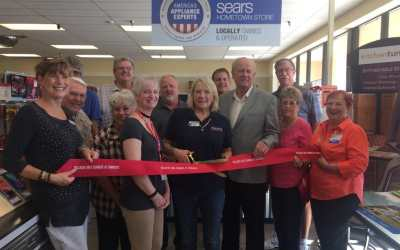 Sears Hometown Store – Ribbon Cutting.