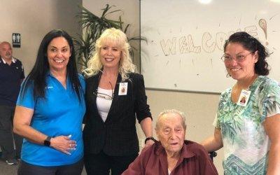 Holocaust Survivor Speaks At Bullhead Chamber