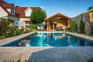 Garten mit Pool vom Profi  Bullinger Gartengestaltung