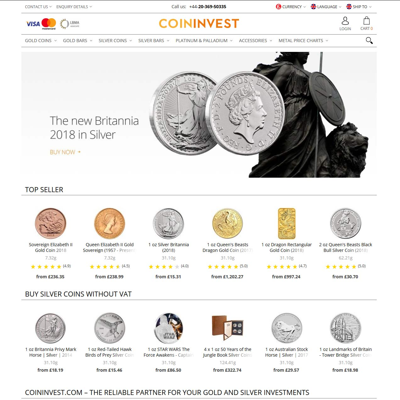 CoinInvest reviews ratings & full company details