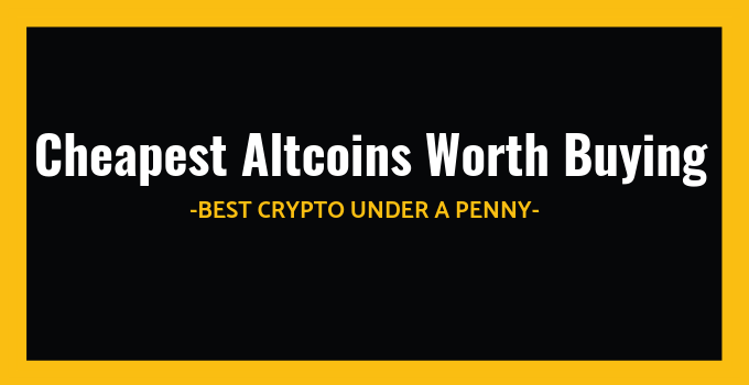 best cheap cryptocurrency to buy now