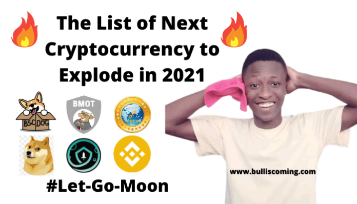 Complete List of Next Cryptocurrency to Explode in 2021