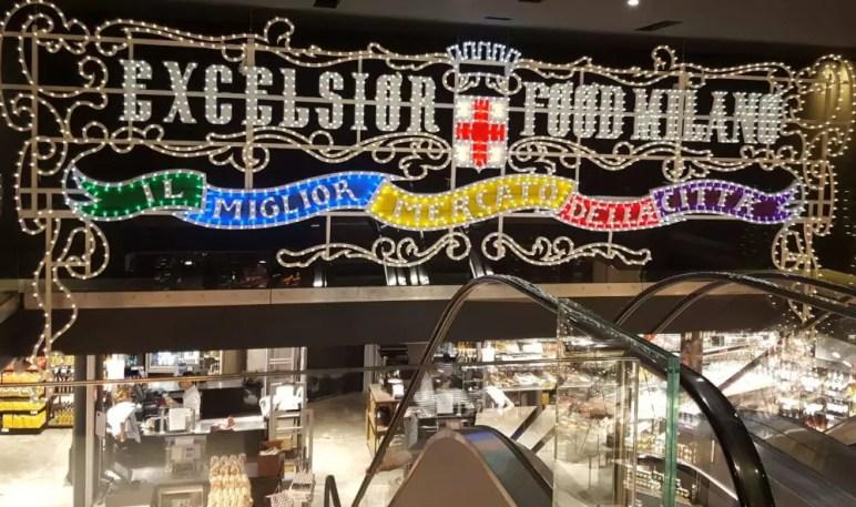 Mailand Excelsior Supermarkt