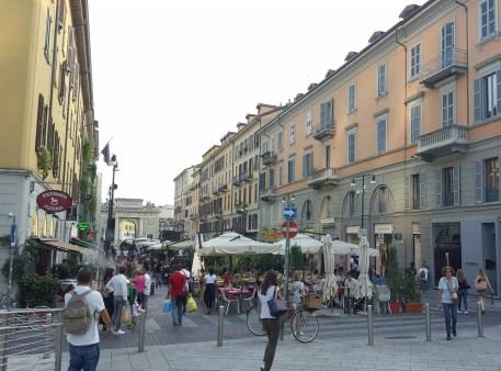 Mailand Corso Como - Aperitivo