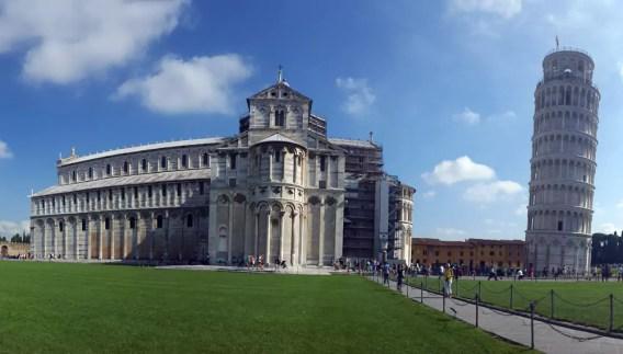 Mit dem VW-Bus durch Italien - Pisa