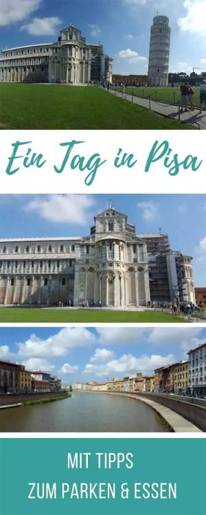 Ein Tag in Pisa - mit Tipps zum kostenlos Parken und günstig essen