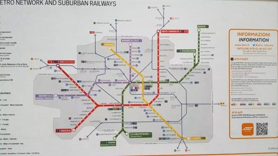 Metro Netz Mailand