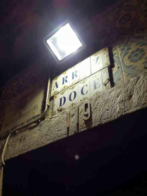 Arroz Doce Bar Lissabon