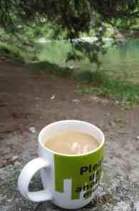 Kaffee am Rhein