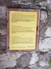Galerie Splügenpass Info