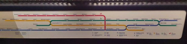 Metroplan Lissabon