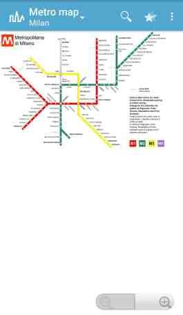 Triposo Reise App Mailand Metronetz