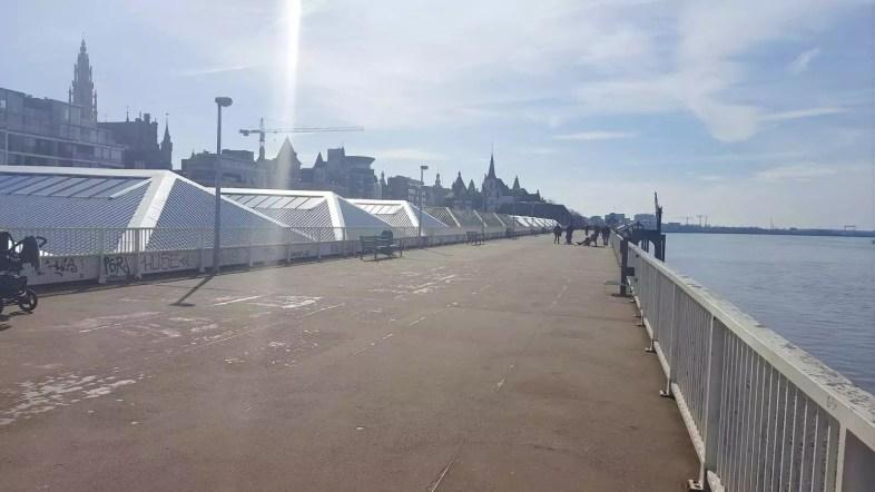 Promenade Schelde Antwerpen