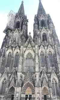 Köln Dom außen