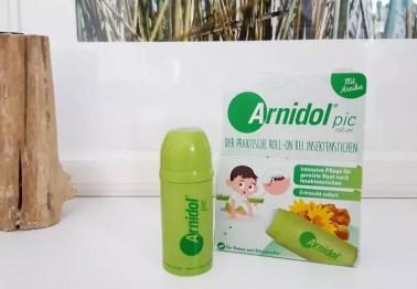 Tipp für die Reiseapotheke - Arnidol Pic bei Insektenstichen